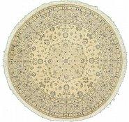 Link to 6' 6 x 6' 6 Nain Persian Round Rug