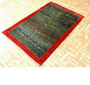 Link to 3' 5 x 5' 6 Kashkuli Gabbeh Persian Rug