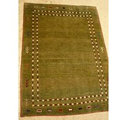 Link to 2' 2 x 3' 3 Kashkuli Gabbeh Persian Rug