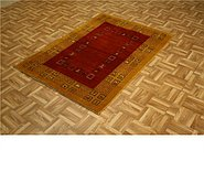 Link to 3' 5 x 4' 11 Kashkuli Gabbeh Persian Rug