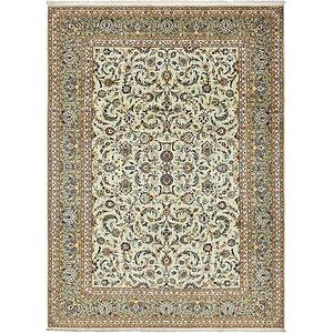 8' 11 x 12' 1 Kashan Persian Rug