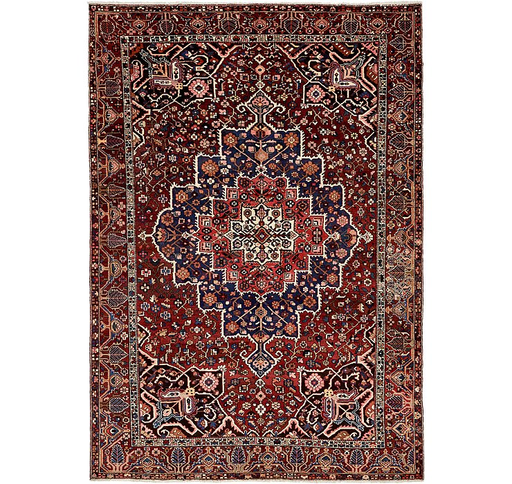 HandKnotted 10' 4 x 15' Bakhtiar Persian Rug