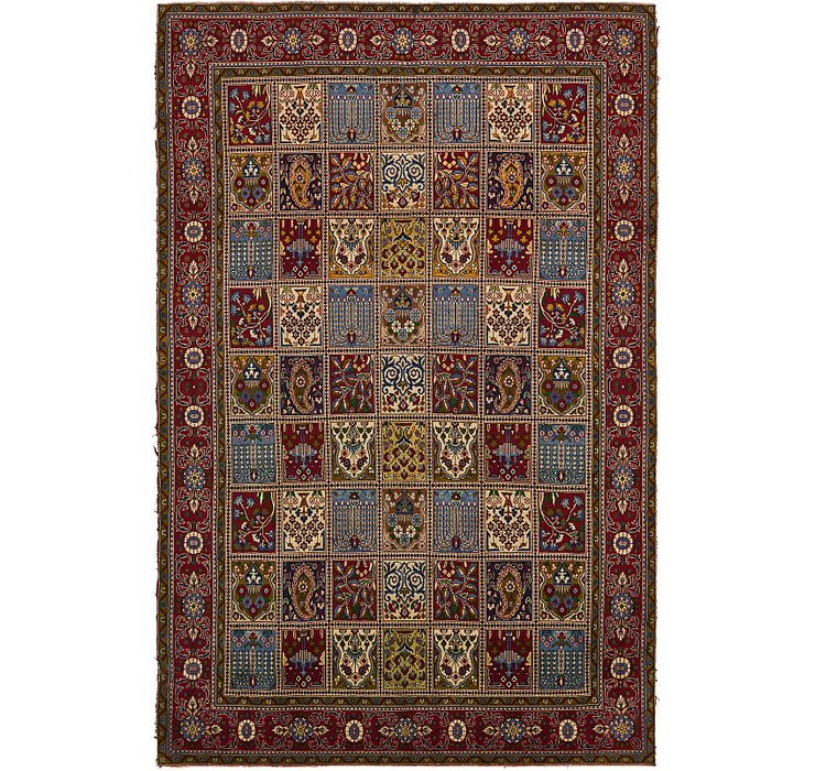 8' 6 x 13' Bakhtiari Persian Rug