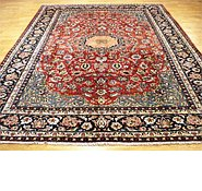 Link to 8' 8 x 11' 11 Isfahan Persian Rug