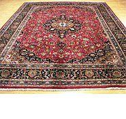 Link to 9' 9 x 12' 6 Kashmar Persian Rug
