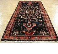 Link to 4' 10 x 10' 3 Hamedan Persian Runner Rug