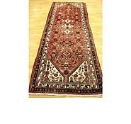 Link to 3' 5 x 10' 1 Hossainabad Persian Runner Rug