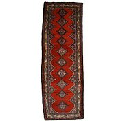 Link to 3' 9 x 10' 10 Hamedan Persian Runner Rug