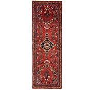 Link to 110cm x 312cm Hamedan Persian Runner Rug