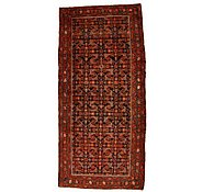 Link to 4' 7 x 9' 10 Hossainabad Persian Runner Rug