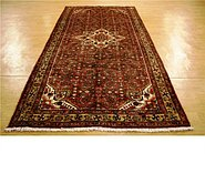 Link to 5' 5 x 10' 7 Hossainabad Persian Rug
