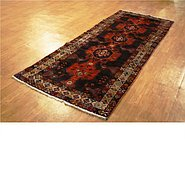 Link to 3' 8 x 9' 10 Khamseh Persian Runner Rug