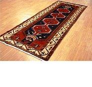 Link to 3' 10 x 9' 8 Khamseh Persian Runner Rug