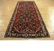 Link to 4' 2 x 11' 11 Hossainabad Persian Runner Rug