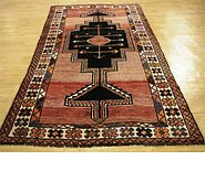 Link to 4' 8 x 9' Shiraz Persian Rug