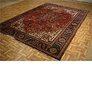 Link to 7' 4 x 10' 4 Heriz Persian Rug