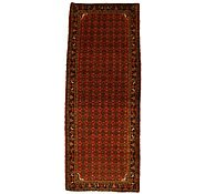 Link to 3' 11 x 9' 11 Hossainabad Persian Runner Rug