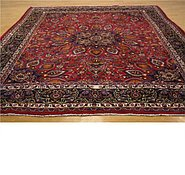 Link to 9' 5 x 11' 9 Mashad Persian Rug