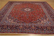 Link to 9' 9 x 13' 8 Kashan Persian Rug