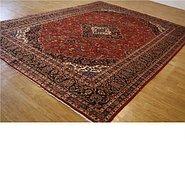 Link to 9' 9 x 13' 3 Mashad Persian Rug