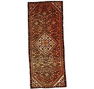 Link to 3' 6 x 8' 8 Hossainabad Persian Runner Rug