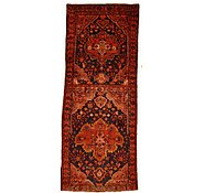 Link to 3' 10 x 9' 9 Hamedan Persian Runner Rug