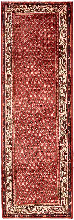 Red 3 8 X 10 7 Farahan Persian Runner Rug Persian Rugs