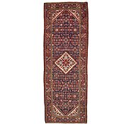 Link to 3' 7 x 10' 1 Hossainabad Persian Runner Rug