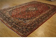 Link to 8' 11 x 13' 1 Kashan Persian Rug