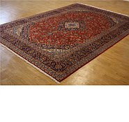 Link to 9' 7 x 12' 11 Kashan Persian Rug