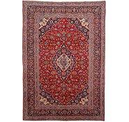 Link to 9' 6 x 13' 8 Kashan Persian Rug