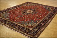 Link to 8' 1 x 11' 3 Tabriz Persian Rug