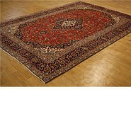 Link to 9' 4 x 13' Kashan Persian Rug