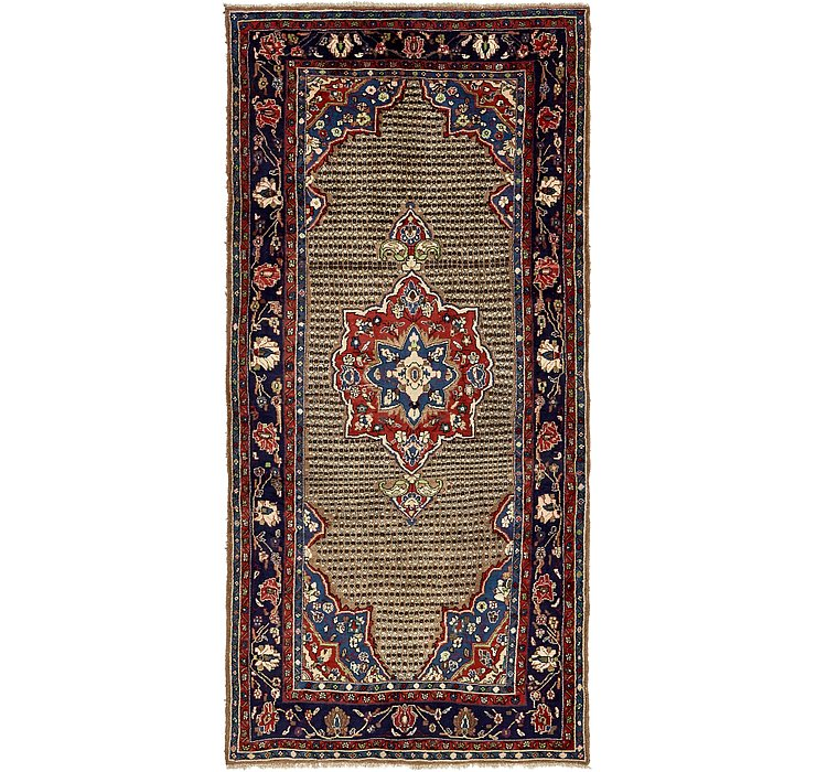 4' 10 x 10' 6 Koliaei Persian Runner ...