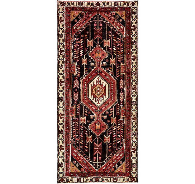 4' 3 x 9' 9 Saveh Persian Runner Rug