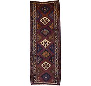 Link to 4' 4 x 11' 8 Shiraz-Lori Persian Runner Rug