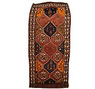 Link to 4' 3 x 11' 6 Shiraz-Lori Persian Runner Rug