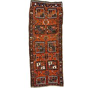 Link to 4' 6 x 11' 4 Shiraz-Lori Persian Runner Rug