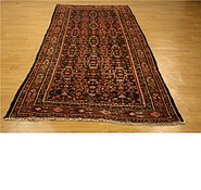 Link to 4' 5 x 10' 4 Hossainabad Persian Runner Rug