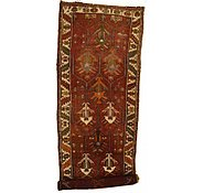 Link to 4' 6 x 14' 2 Shiraz-Lori Persian Runner Rug