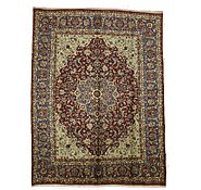 Link to 9' 11 x 13' Isfahan Persian Rug