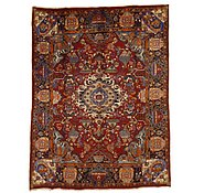 Link to 9' 10 x 12' 6 Kashmar Persian Rug