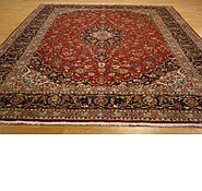 Link to 9' 9 x 13' 4 Kashan Persian Rug