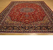 Link to 9' 9 x 13' 5 Isfahan Persian Rug