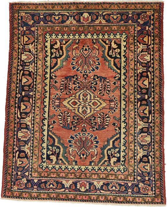 Persian Rugs Australia: Peach 152cm X 183cm Liliyan Persian Rug