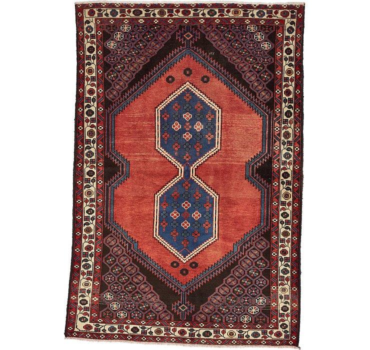 4' 6 x 6' 7 Zanjan Persian Rug