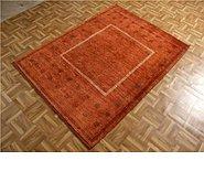 Link to 4' 2 x 5' 8 Kashkuli Gabbeh Persian Rug