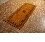 Link to 2' 7 x 6' 6 Kashkuli Gabbeh Persian Runner Rug
