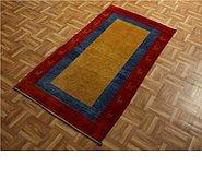 Link to 2' 8 x 5' Kashkuli Gabbeh Persian Rug