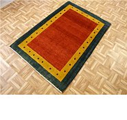 Link to 3' 5 x 5' 1 Kashkuli Gabbeh Persian Rug